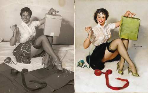 pin ups before and after - Imgur